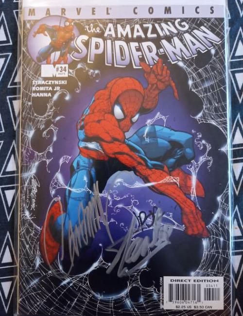 Marvel - The amazing Spiderman # 30 signé par Stan Lee