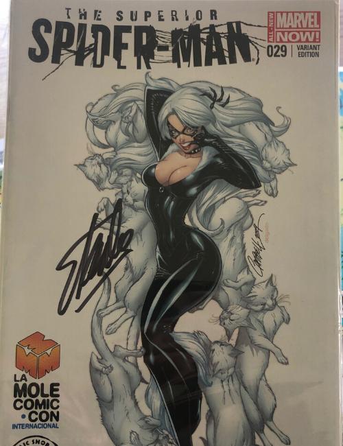 Marvel - The Superior Spiderman signé par Stan Lee