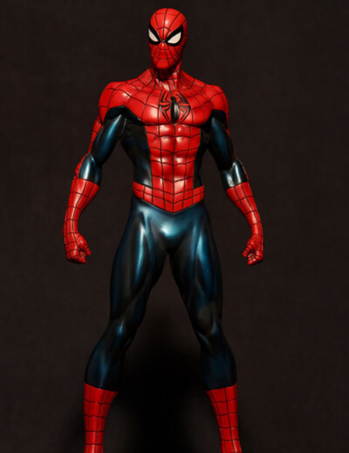 Rare Statuette Marvel Spiderman