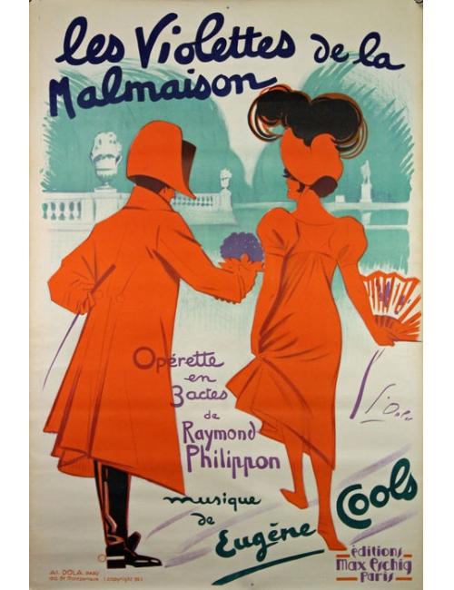 Affiche Dola - Les Violettes de la Malmaison