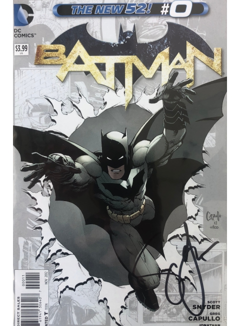 Batman The new 52 #0 signé par Scott Snyder