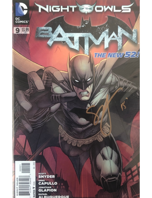 Batman The new 52 signé par Scott Snyder