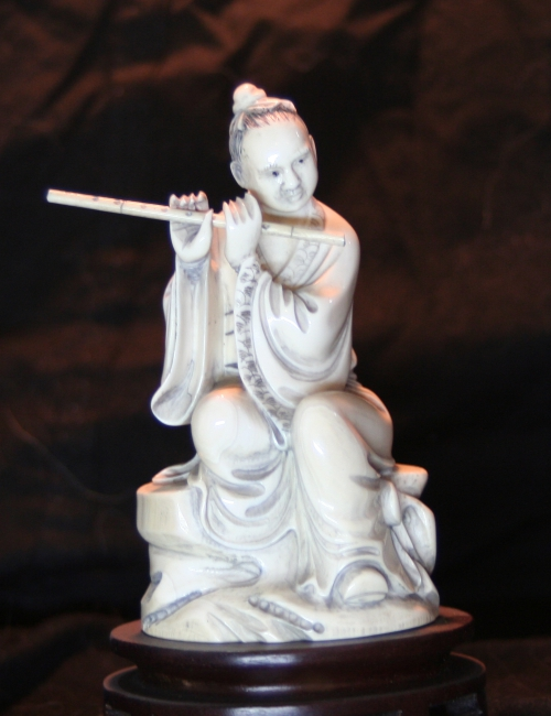 Statuette chinoise ivoire