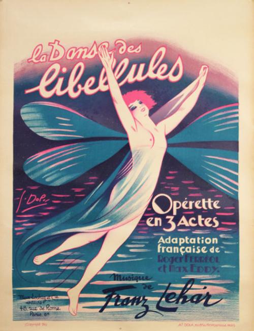 Affiche Dola - La Danse libellules