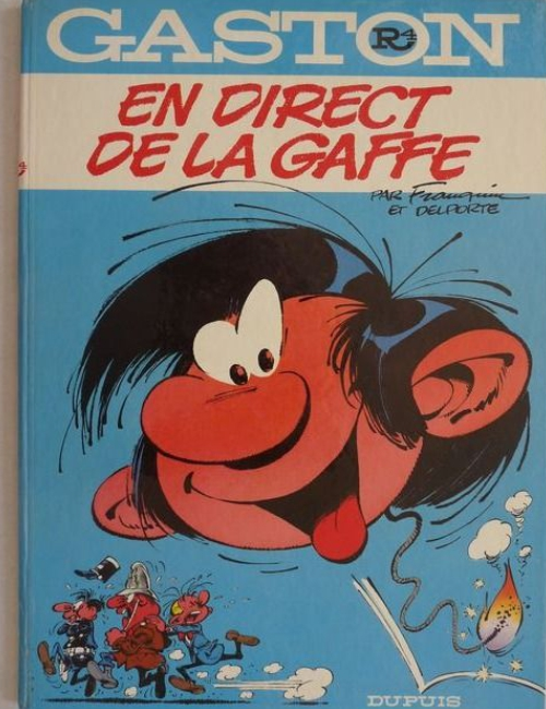 Gaston R4 - En direct de la gaffe - EO 1974