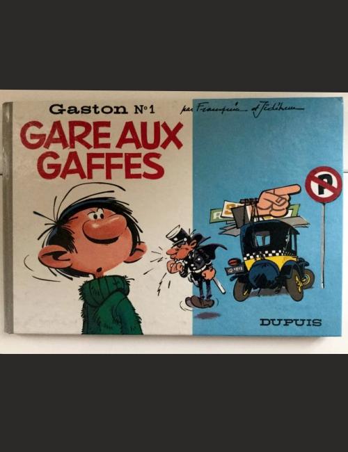 Gaston T1 - Rare - Gare aux gaffes
