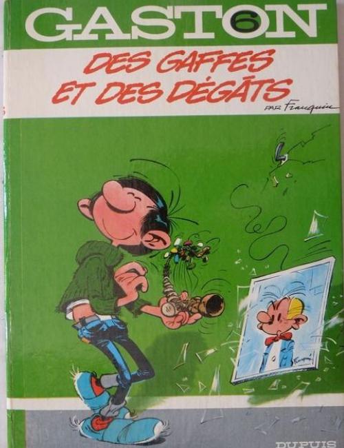 Gaston T6 - Des Gaffes et des Dégâts
