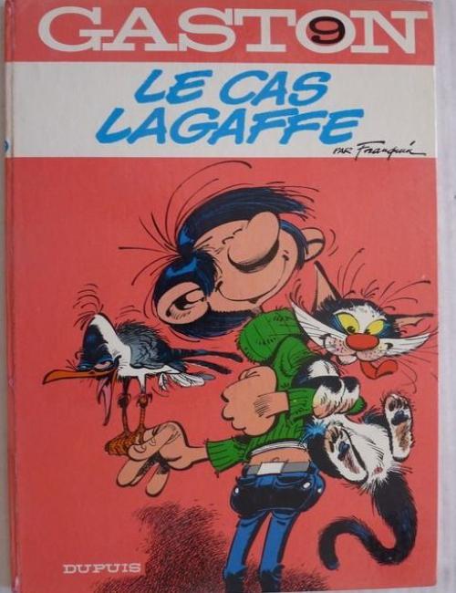 Gaston T9 - Le Cas Lagaffe - EO 1971C