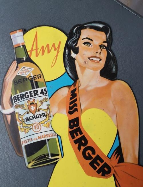Pinup Berger - Vintage et rare