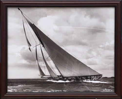 "voilier ""Britannia 1924"" de Beken of Cowes"