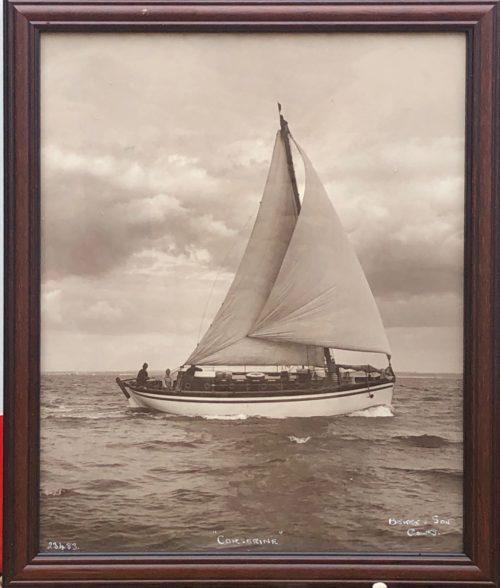 """Photographie du voilier """"Corserine"""" de Beken of Cowes"""