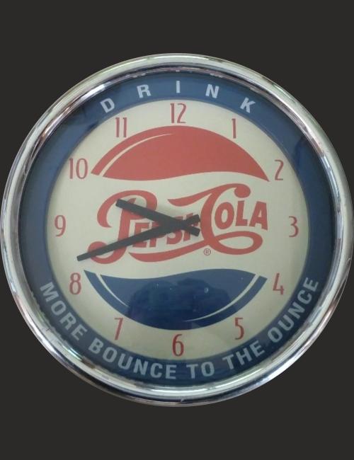 Horloge Pepsi Cola Vintage