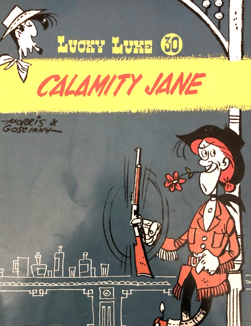 Lucky Luke T30 - Calamity Jane - édition originale - 1967