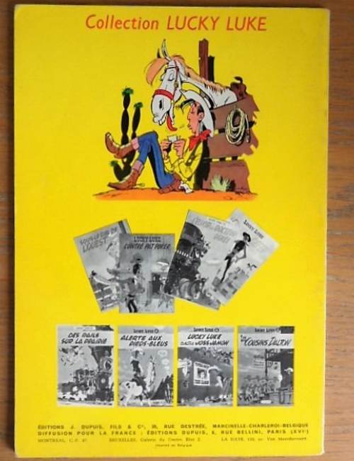Lucky Luke Le Juge édition originale 1959