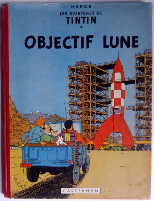 Tintin - Objectif Lune (B8) - 1953 EO