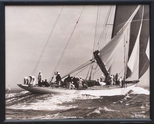 "Photographie Beken of Cowes ""Velsheda 1934"""