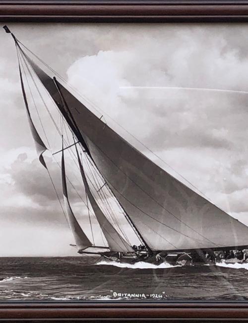 """voilier """"Britannia 1924"""