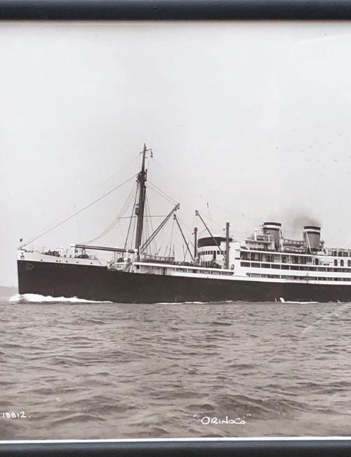 "of Cowes bateau vapeur ""Orinoco"""