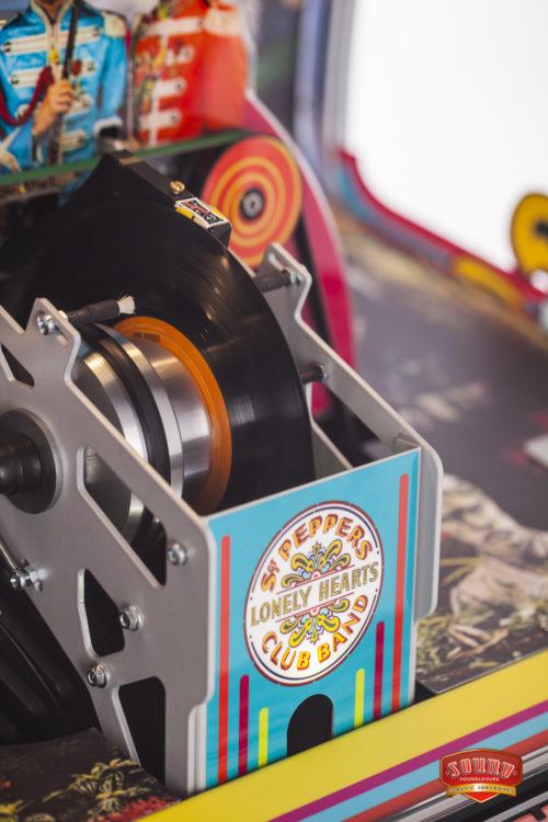 Juke-box Vinyle 45 Sergent Pepper's Sound Leisure