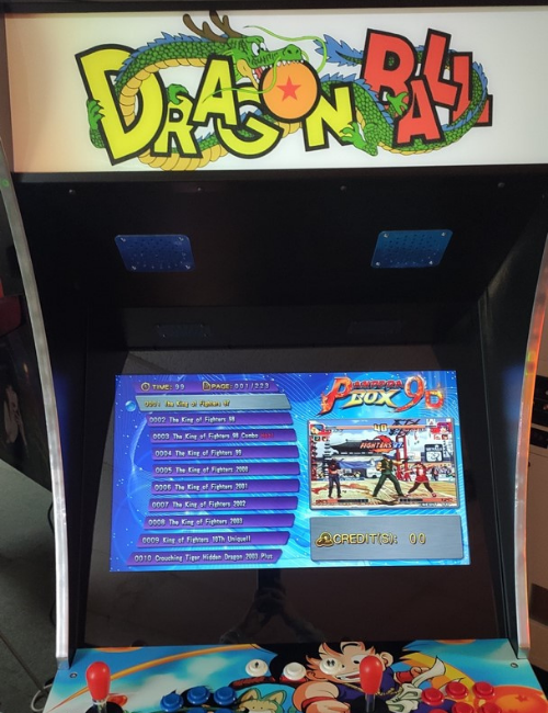 Borne d'arcade Dragon