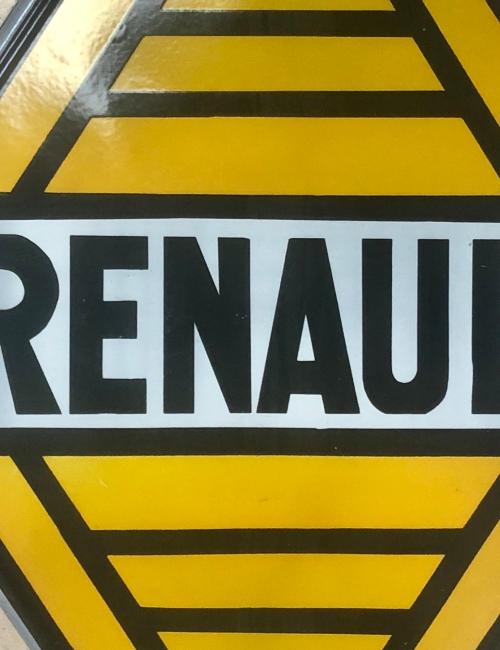 plaque émaillée Renault 1959