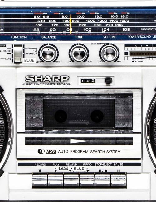 Boombox Sharp