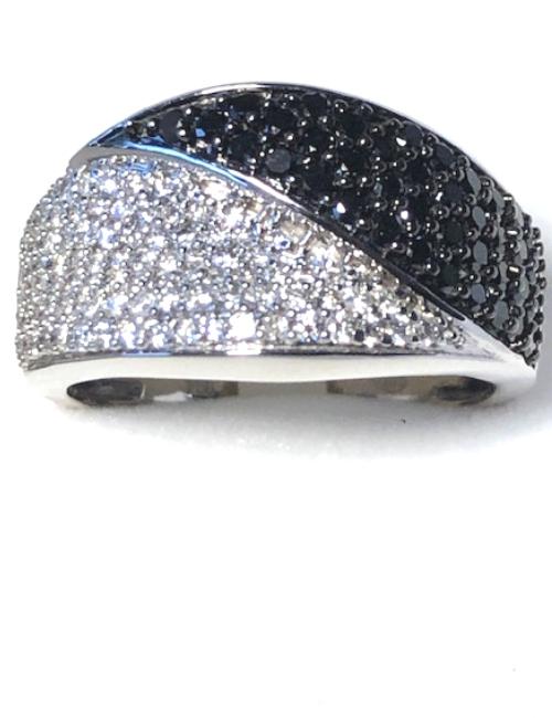 Bague or 18 carats et diamants - Neuve