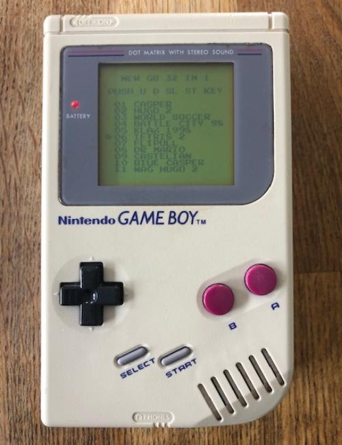 Game Boy 1989 avec Mallette