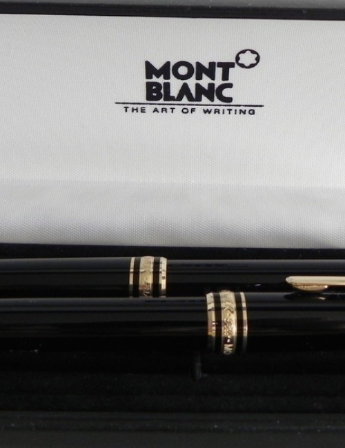Parure Montblanc Meisterstuck (bille et rolerball)