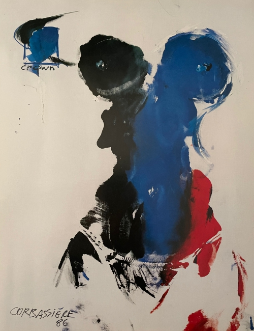 Lithographie Corbassière