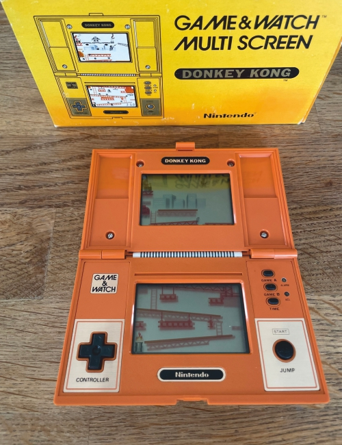 Game & Watch Donkey Kong - Boite d'origine