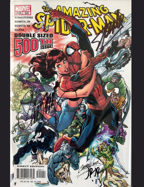 The Amazing Spiderman 500