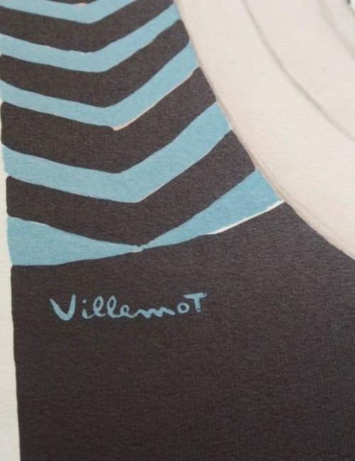 Lithographie Villemot
