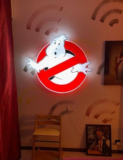 Enseigne lumineuse Ghostbusters-1