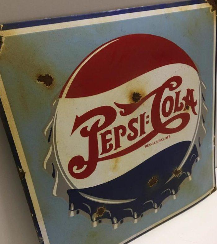 Plaque émaillée Pepsi Cola